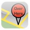 今いる場所をメールで知らせるアプリ(Over Here)
